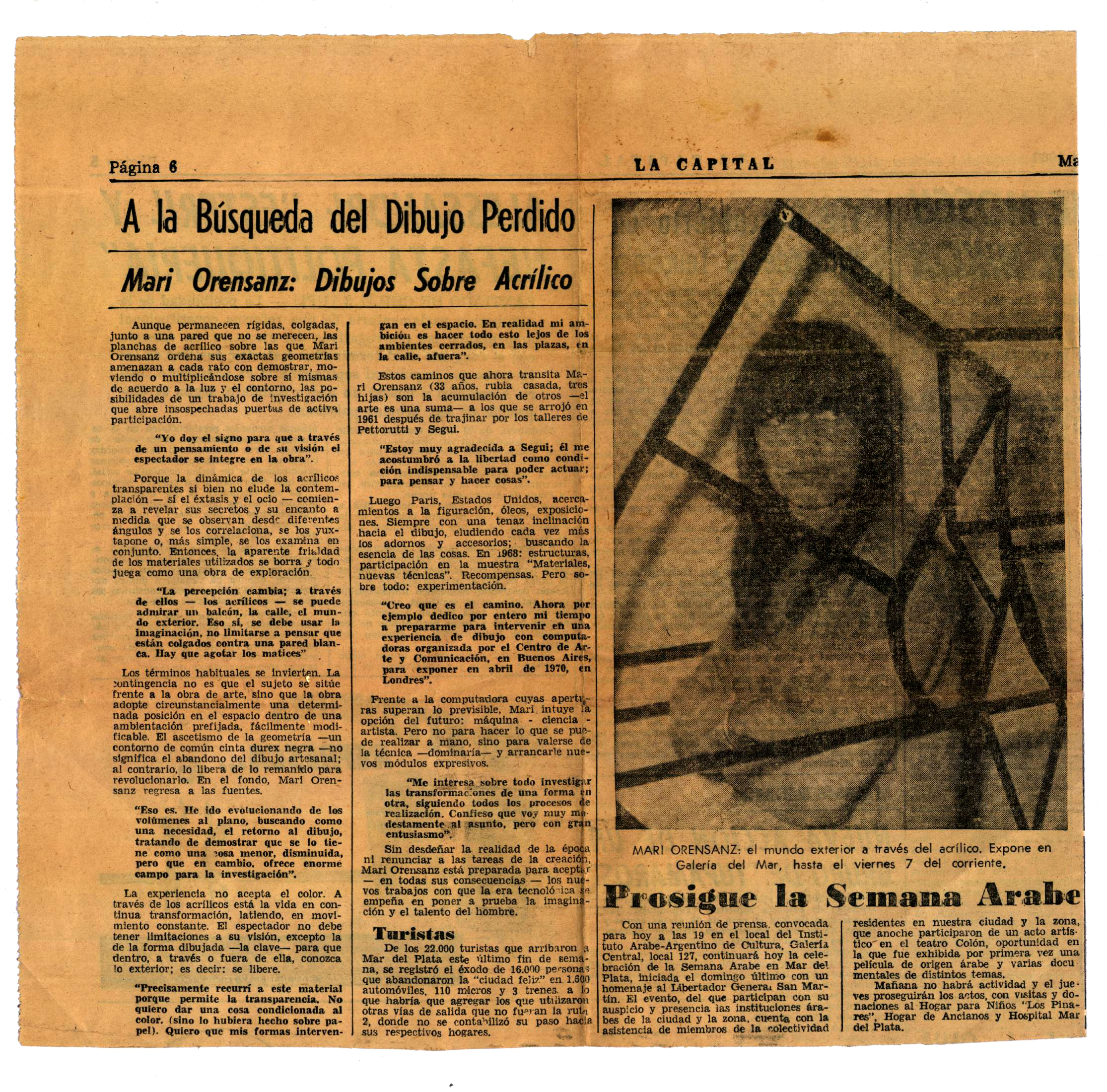 Diario La Capital - 1969
