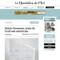 Le Quotidien de l Art - 24/02/2020
