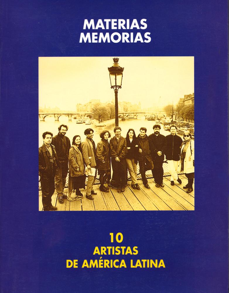 Materias Memoria 10 Artistas de America Latina Bienal de Arte de Pontevedra