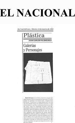 Plastica El Nacional 1993