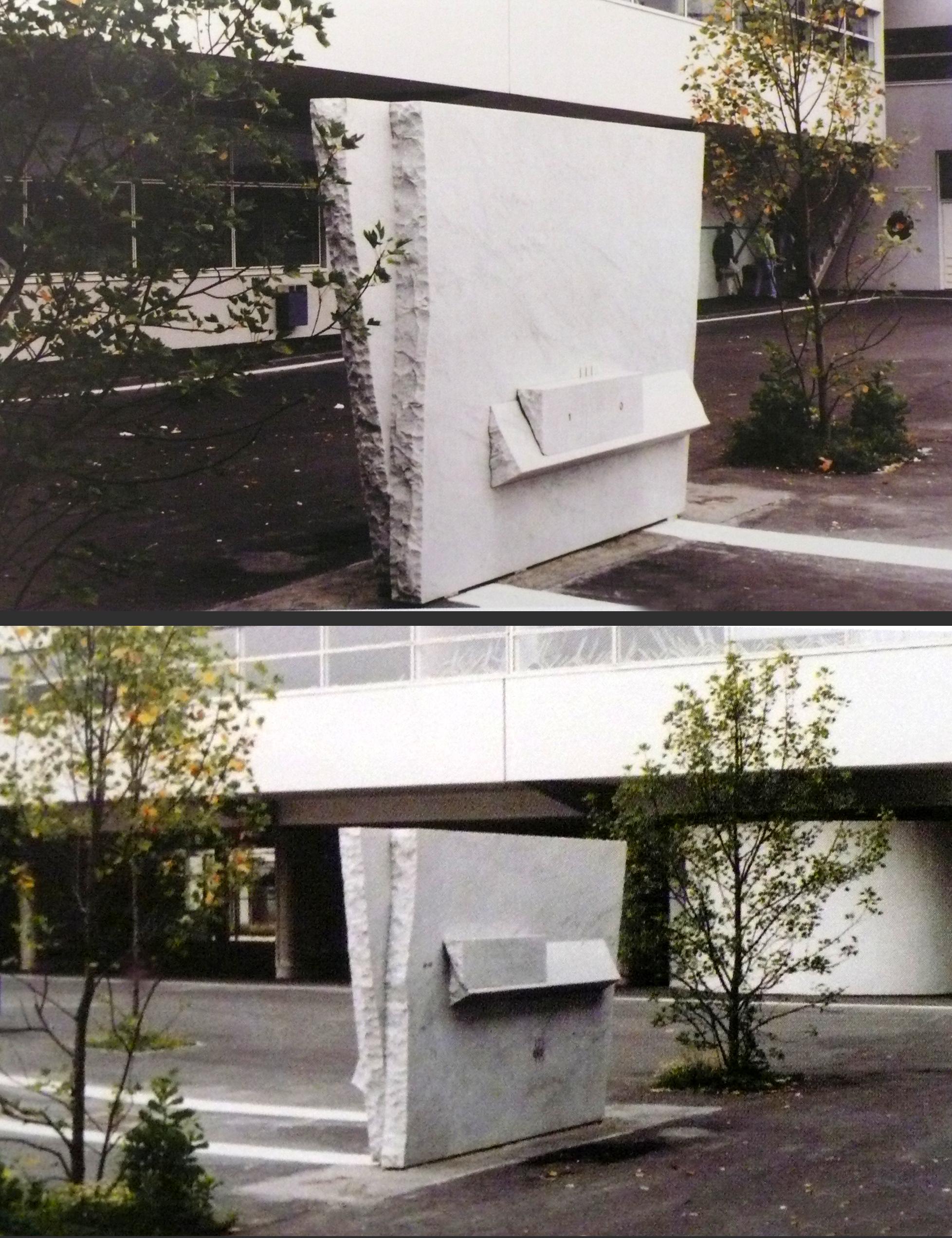 Escultura monumental Francia 1991