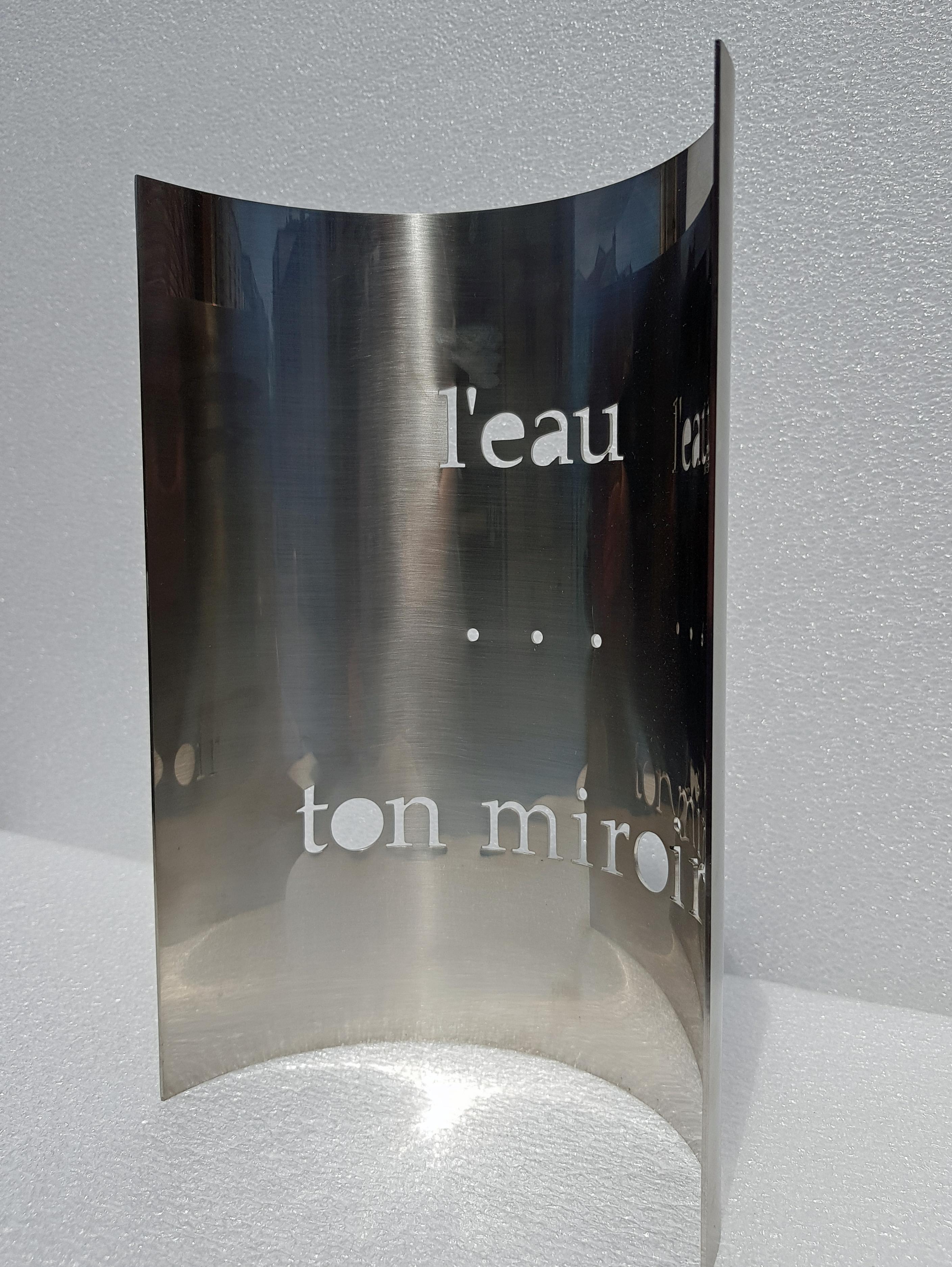 l'eau ton miroir
