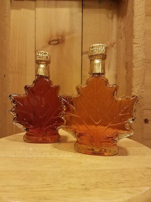 8.45 oz. Glass Maple Leaf