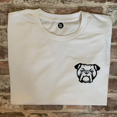 Bulldog Tee - PAWRENT size XL