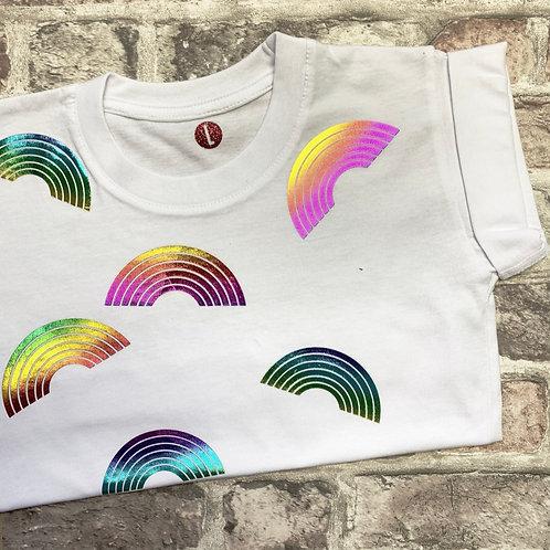 Rainbows - dog tee