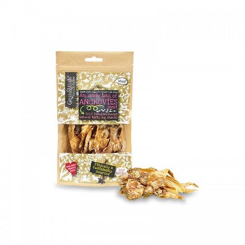 Dried Anchovies Dog Treats