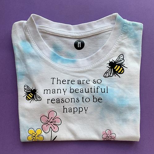Reasons to be happy   - size Medium
