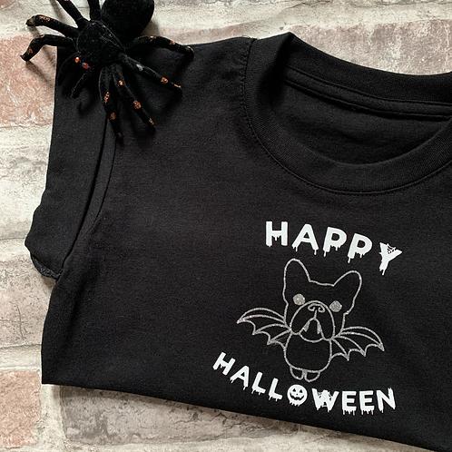 Happy Halloween - dog tee