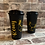 Thumbnail: Reusable Starbucks Style Coffee Cup - Dog Mum  / Dog Dad - BLACK
