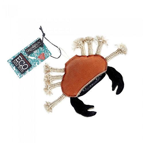 Carlos the Crab -Eco Dog toy