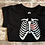 Thumbnail: Halloween Skeleton & Heart SIZE M
