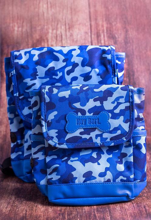 Poochie Blue Backpack