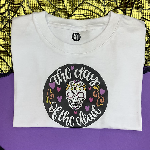 Day of the Dead - dog tee