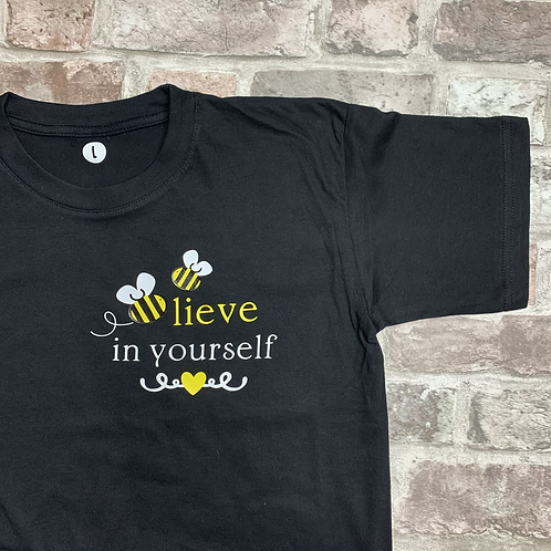 Bee-lieve in yourself - Pawrent Tee