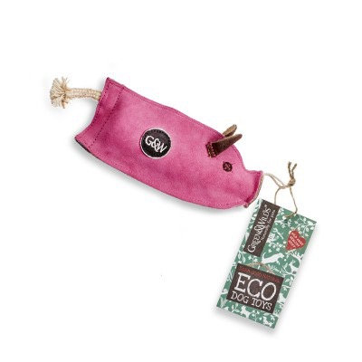 Percy the pig - eco dog toy