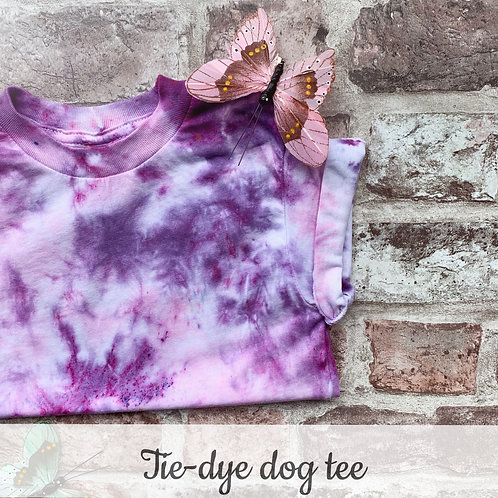 Multi-Colour tie-dye t-shirt - 8 colour combo's available!
