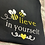 Thumbnail: Bee-lieve in yourself - Pawrent Tee