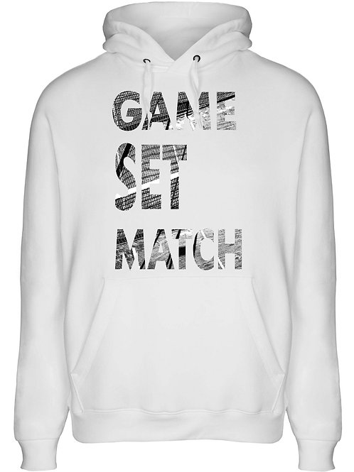 Hoodie Game Set & Match UNISEX