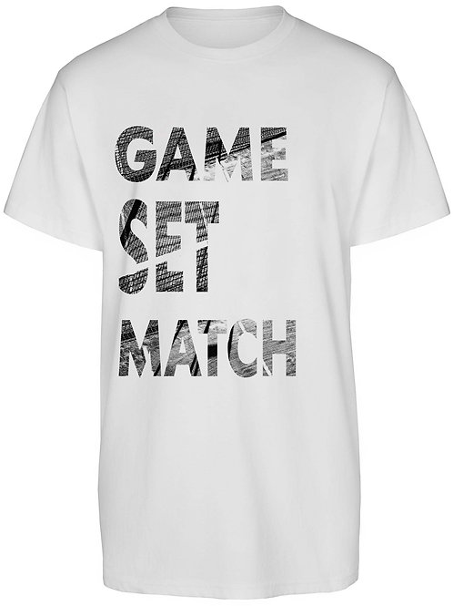 Shirt UNISEX Game Set & Match