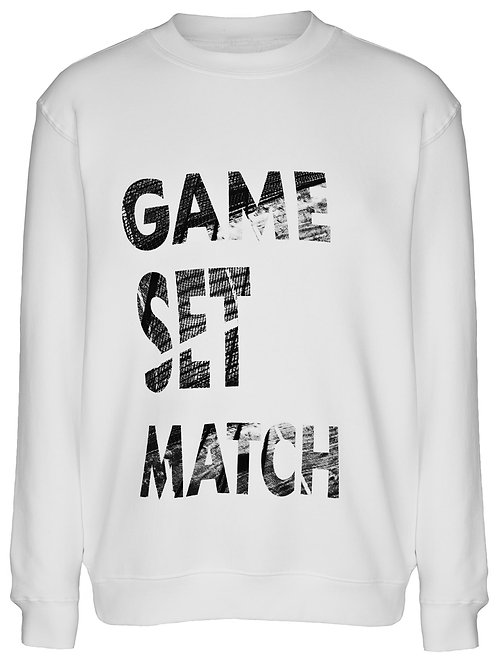 Pullover Game Set & Match UNISEX
