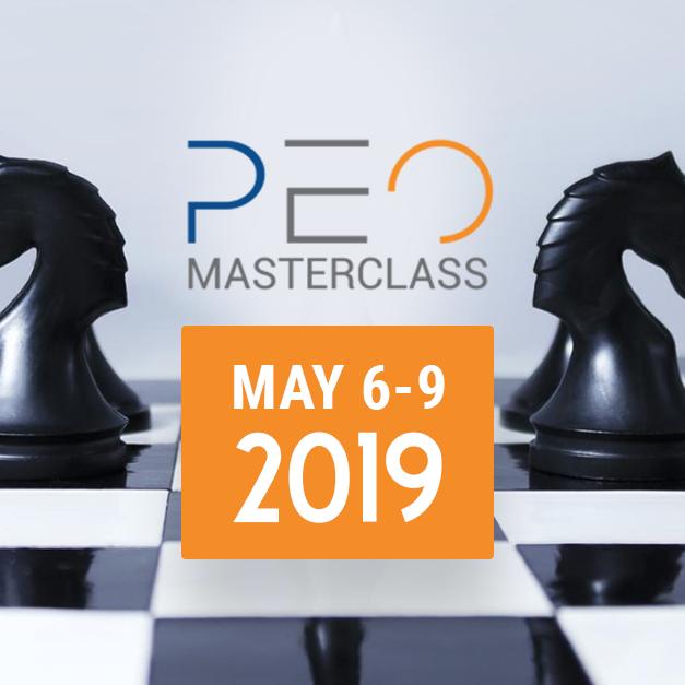 MasterClass - PEO Sales Program - May