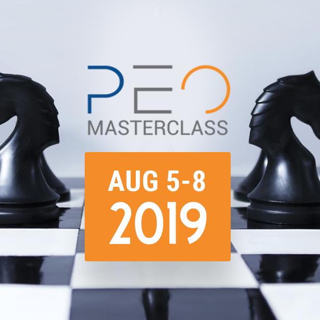 MasterClass - PEO Sales Program - August