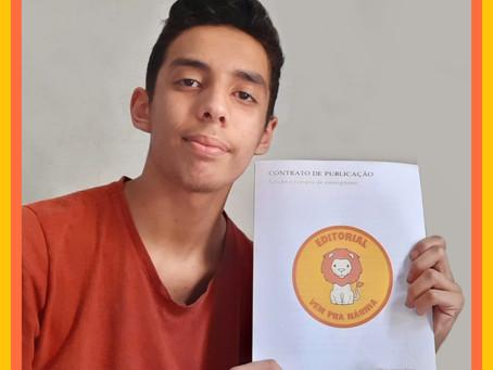 Jovem de 16 anos publica seu primeiro livro de gênero infanto-juvenil, para quem gosta de fantasia