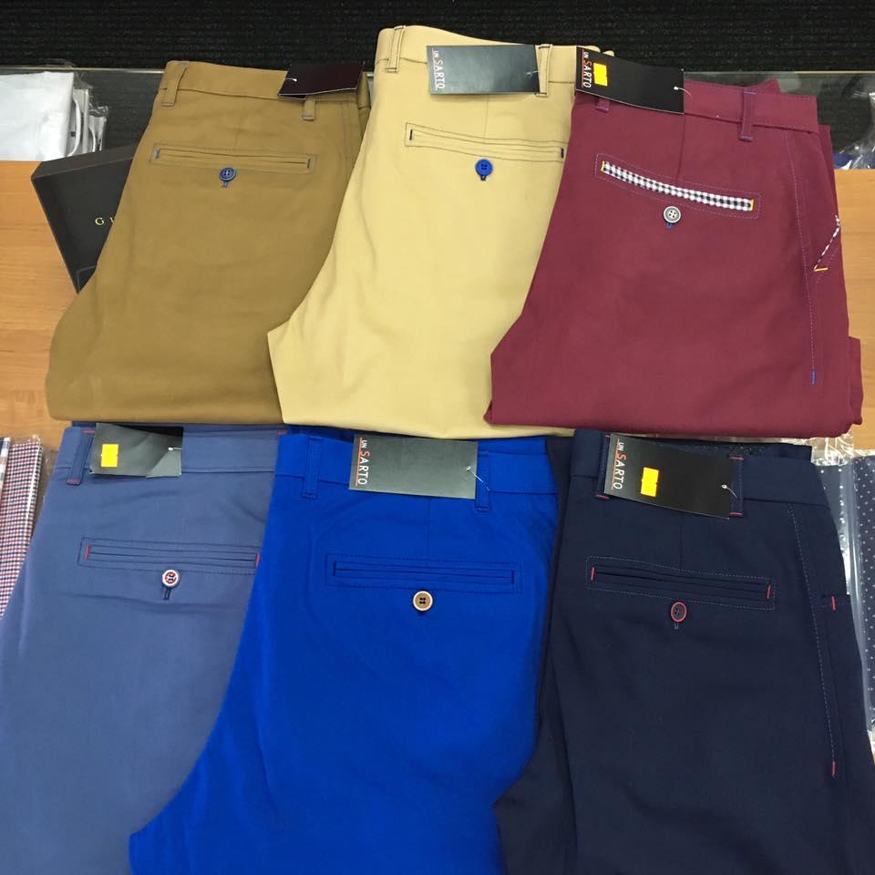 Spodnie bawełniane 4K chinos UNSARTO