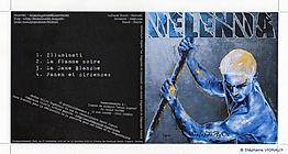 Les stigmates de l'Histoire. Peinture Technique mixte : Huile et acrylique. Peinture utilisée pour illustration de l'album musical du groupe Delenda. Stéphanie Vignaux, artiste peintre, 65000 Tarbes. Hautes-Pyrénées. Occitanie. France