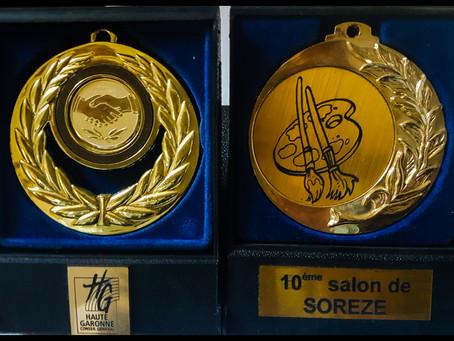 Des médailles... en chocolat ?