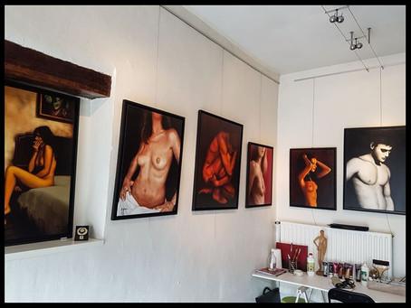 L'atelier plus communément appelé : Le Baz'art sans nom...
