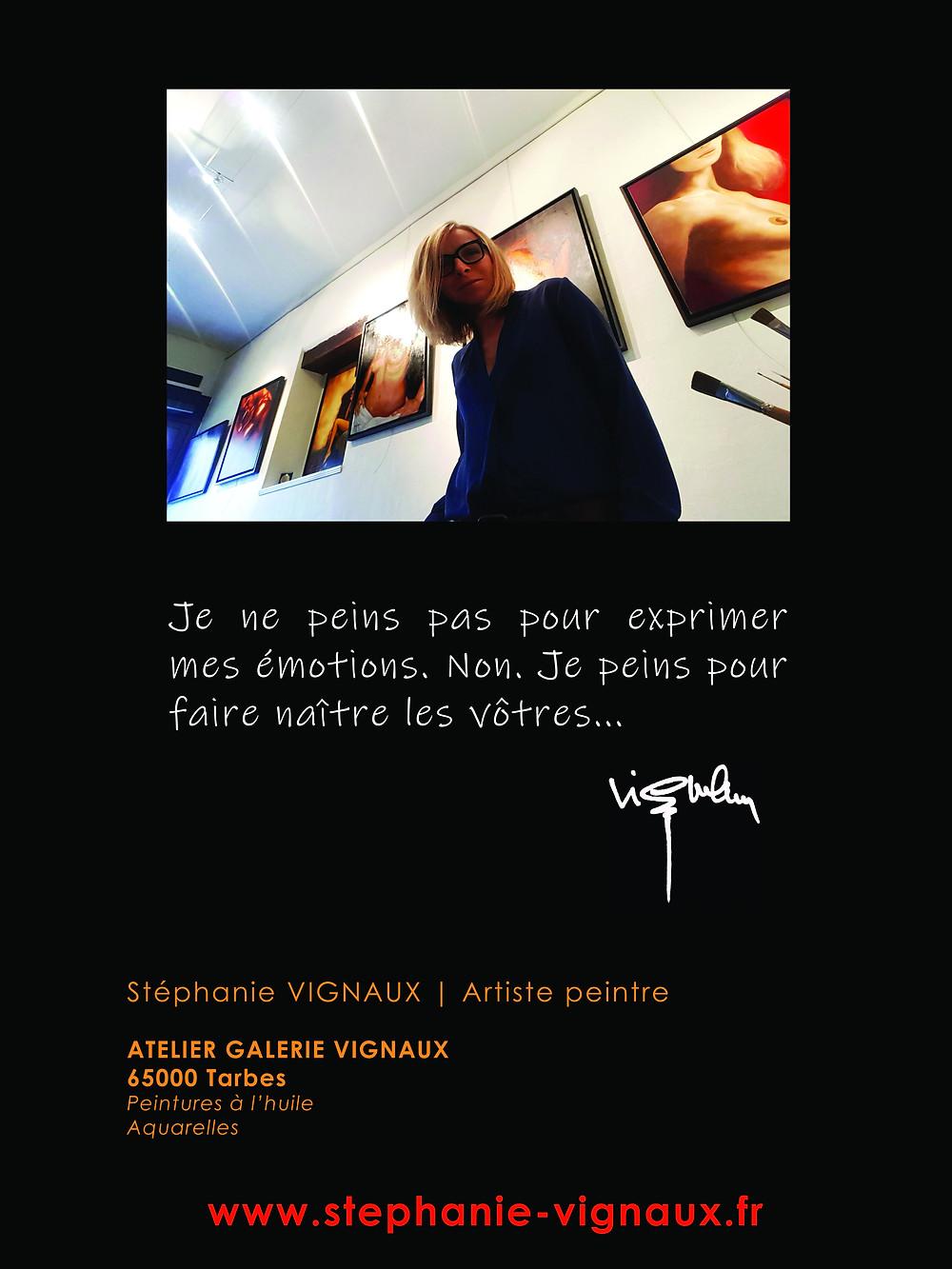 Stéphanie VIGNAUX   Artiste peintre