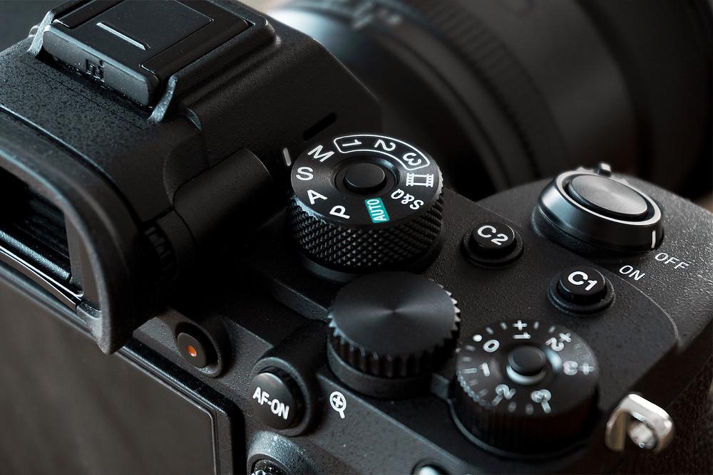 Sony A7RIV bouton