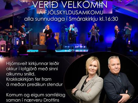 Guðsþjónusta 24. október