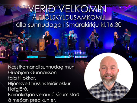 Guðsþjónusta 17. október
