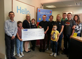 TSB, The Weir, Hessle are Maxi Fun Club's chosen local charity partner for a second year.