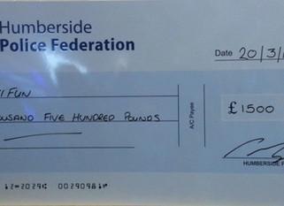 Humberside Police Federation Donation