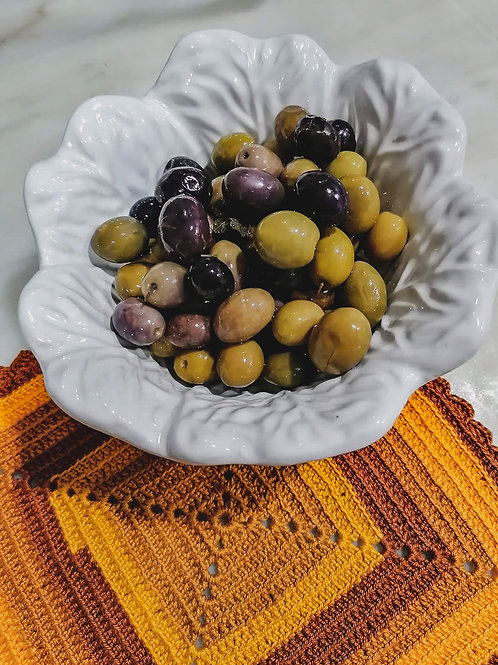 Azeitona Comum/Tradicional (250 Gramas)
