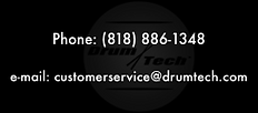 Contact Drum Tech, manufacturer electronic pads, pedals, triggers, acoustic drum tuning systems