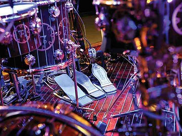 Neil Peart's Drum Pedal Setup
