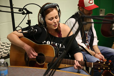 Vanessa on the radio.jpg