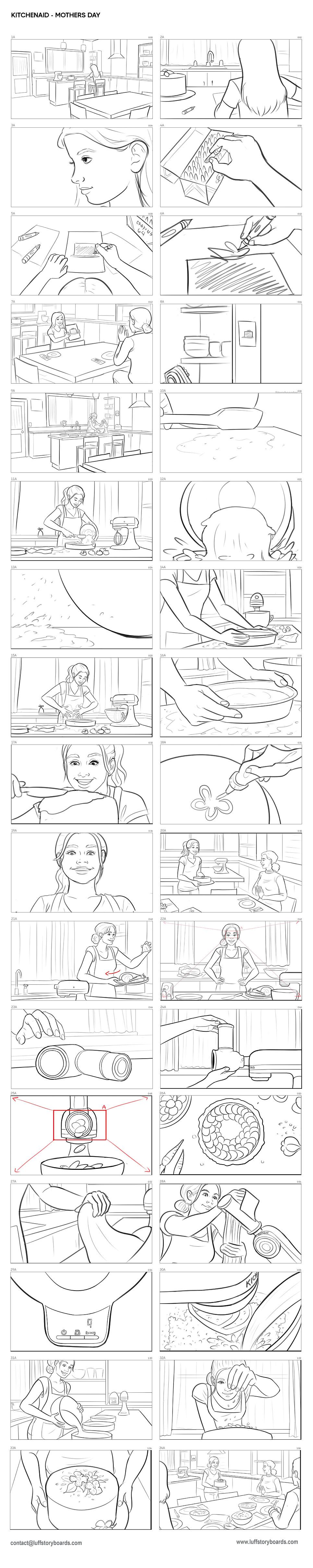 KitchenAid - Mothers Day_LuffStoryboards