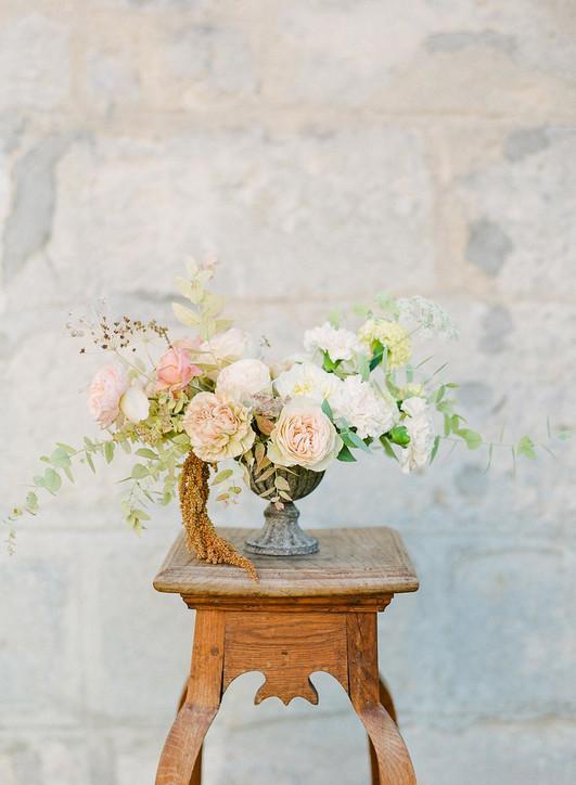 Arrangement floral pour mariage