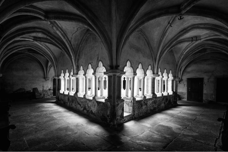 Le cloître du XIVème