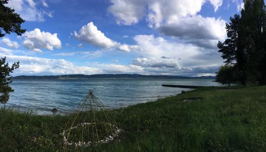 Les bords du Lac de Neuchâtel