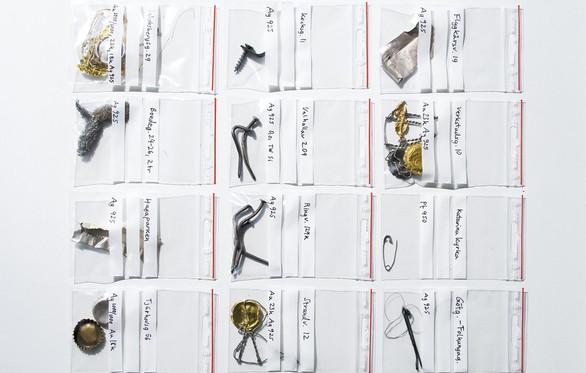 Golden Trash projektet i guld, silver & platina