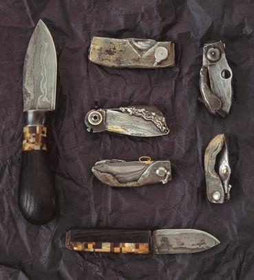Samlingsbild knivar