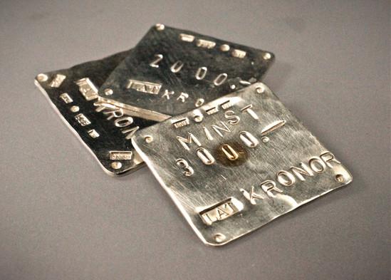 Presentkort i silver & guld