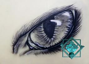Oeil sur skin