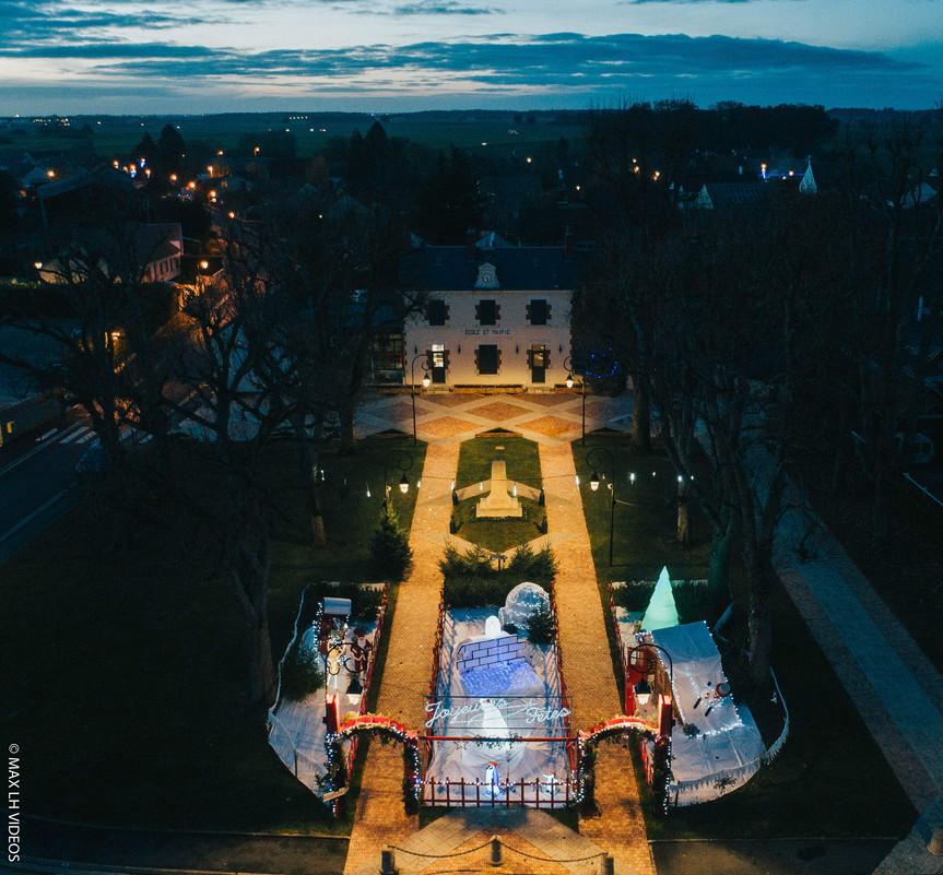 Prises de vue aériennes pour la ville de Diors (36)